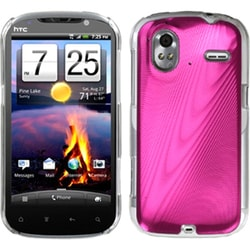 INSTEN Hot Pink/ Cosmo Phone Case Cover for HTC Amaze 4G
