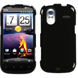 INSTEN Natural Black Phone Case Cover for HTC Amaze 4G