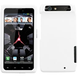 INSTEN Ivory White Phone Case Cover for Motorola XT912 Droid Razr