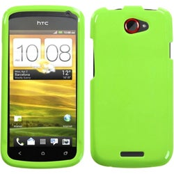 INSTEN Natural Pearl Green Phone Case Cover for HTC One S