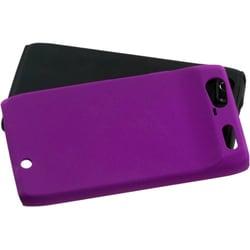 INSTEN Purple Fusion Phone Case Cover for Motorola XT912 Droid Razr