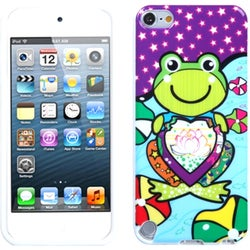 Insten Frog TPU Rubber Candy Skin Glossy Case Cover For Apple iPod Touch 5th/ 6th Gen