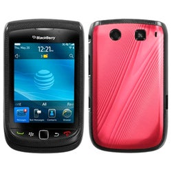 INSTEN Red Cosmo Phone Case Cover for Blackberry Torch 9800/ 9810 4G
