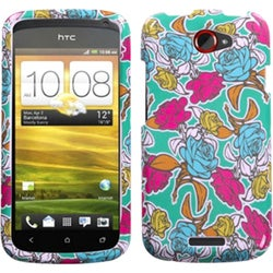 INSTEN Rose Garden Phone Case Cover for HTC One S
