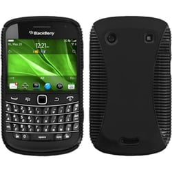 INSTEN Black Mixy Phone Case Cover for Blackberry Bold 9930/ 9900