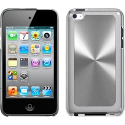 INSTEN Silver Cosmo Back iPod Case Cover for Apple iPod touch 4