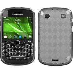 INSTEN Smoke Argyle Candy Skin Phone Case Cover for Blackberry Bold 9930/ 9900