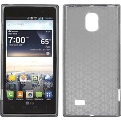 INSTEN Smoke Hexagon Candy Skin Phone Case Cover for LG VS930 Spectrum 2