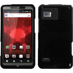 INSTEN Solid Black Phone Case Cover for Motorola XT875 Droid Bionic