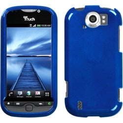 INSTEN Solid Dark Blue Phone Case Cover for HTC myTouch 4G Slide
