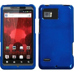 INSTEN Solid Dark Blue Phone Case Cover for Motorola XT875 Droid Bionic