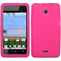 INSTEN Solid Hot Pink Phone Case Cover for Huawei H881C Ascend Plus/ Y301 Valiant