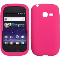 INSTEN Solid Hot Pink Skin Phone Case Cover for Samsung R480 Freeform 5