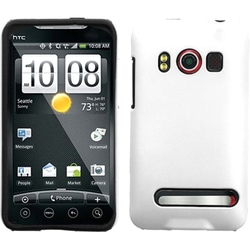 INSTEN Solid Ivory Fusion Phone Case Cover for HTC EVO 4G