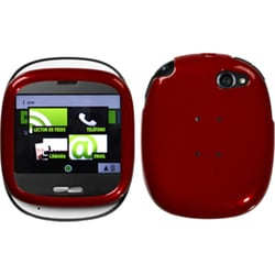 INSTEN Solid Red Phone Case Cover for Sharp Kin One Microsoft