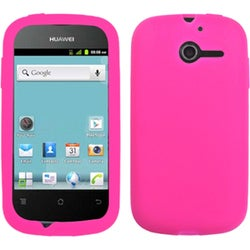 INSTEN Hot Pink Phone Case Cover for Huawei M866 Ascend Y