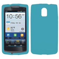 INSTEN Solid Tropical Teal Skin Phone Case Cover for Pantech P9090 Magnus