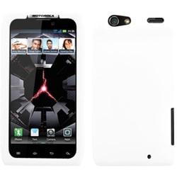 INSTEN Solid White Skin Phone Case Cover for Motorola XT912 Droid Razr