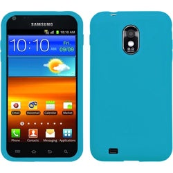 INSTEN Solid Tropical Teal Phone Case Cover for Samsung Galaxy S2/ Epic 4G Touch