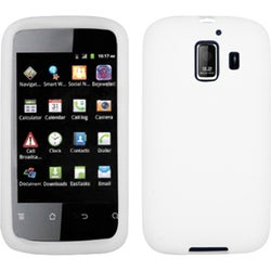 INSTEN Solid White Skin Phone Case Cover for Huawei U8665 Fusion 2