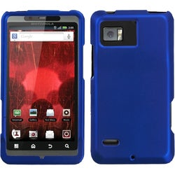 INSTEN Titanium Solid Dark Blue Phone Case Cover for Motorola XT875 Droid Bionic