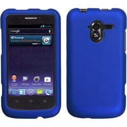 INSTEN Titanium Solid Dark Blue Protector Phone Case Cover for ZTE N9120 Avid 4G
