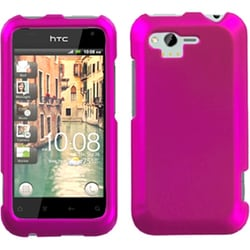 INSTEN Titanium Solid Hot Pink Protector Phone Case Cover for HTC Adr6330 Rhyme