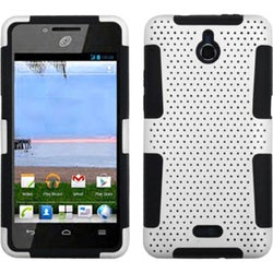 INSTEN White/ Black Astronoot Phone Case Cover for Huawei H881C Ascend Plus