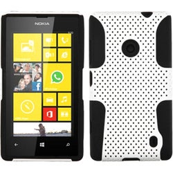 INSTEN White/ Black Astronoot Phone Case Cover for Nokia Lumia 520