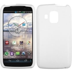 INSTEN White Skin Phone Case Cover for Pantech ADR930LVW Perception