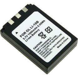 INSTEN 3.7V Li-Ion Battery for Olympus Li-10B / Li-12B / DB-L10