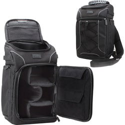 USA Gear GRSLS15100BKEW Carrying Case (Backpack) for Camera, Lens, Me