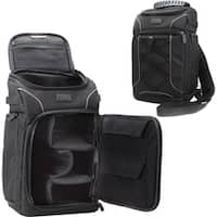 USA Gear GRSLS15100BKEW Carrying Case (Backpack) Camera, Lens, Memory