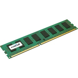Crucial 4GB, 240-pin DIMM, DDR3 PC3-12800 Memory Module