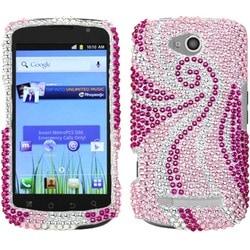 INSTEN Phoenix Tail Diamante Phone Case Cover for Coolpad 5860E Quattro 4G