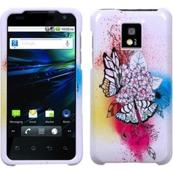 INSTEN Butterfly Paradise Phone Case Cover for LG P999 G2X