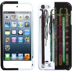 Insten Retro Trains Hard Snap-on Case Cover For Apple iPod Touch 5th/ 6th Gen