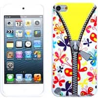 Insten Butterfly TPU Rubber Candy Skin Glossy Case Cover For Apple iPod Touch 5th/ 6th Gen