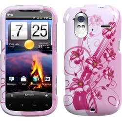INSTEN Blooming Lily Phone Case Cover for HTC Amaze 4G