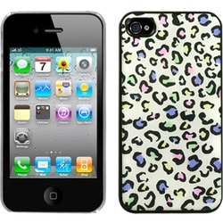 INSTEN Colorful Leopard Dream Back Phone Case Cover for Apple iPhone 4S/ 4