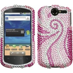 INSTEN Phoenix Tail Diamante Phone Case Cover for Huawei U8800 Impulse 4G