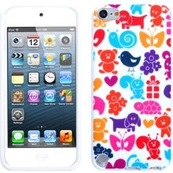 Insten Colorful Animal Paradise TPU Rubber Candy Skin Glossy Case Cover For Apple iPod Touch 5th/ 6th Gen