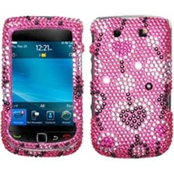 INSTEN Love River Diamante Phone Case Cover for Blackberry Torch 9800/ 9810/ 4G