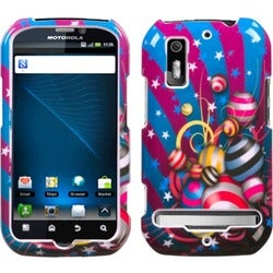 INSTEN Jumpy Phone Case Cover for Motorola MB855 Photon 4G Electrify