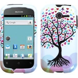 INSTEN Love Tree Phone Case Cover for Huawei M866 Ascend Y