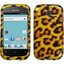 INSTEN Leopard Skin Phone Case Cover for Huawei M866 Ascend Y