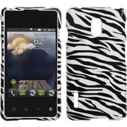 INSTEN Zebra Skin Phone Case Cover for LG US780 Optimus F7