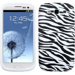 INSTEN Zebra Skin Phone Case Cover for Samsung Galaxy S III i747/ L710/ T999
