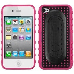 INSTEN Snap Tail Stand Phone Case Cover for Apple iPhone 4S/ 4