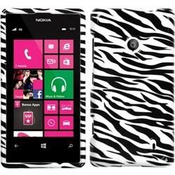 INSTEN Zebra Skin Phone Case Cover for Nokia 521 Lumia